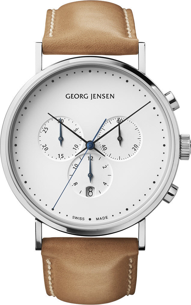 Georg Jensen Watch Koppel 41mm Quartz 3575712 Watch