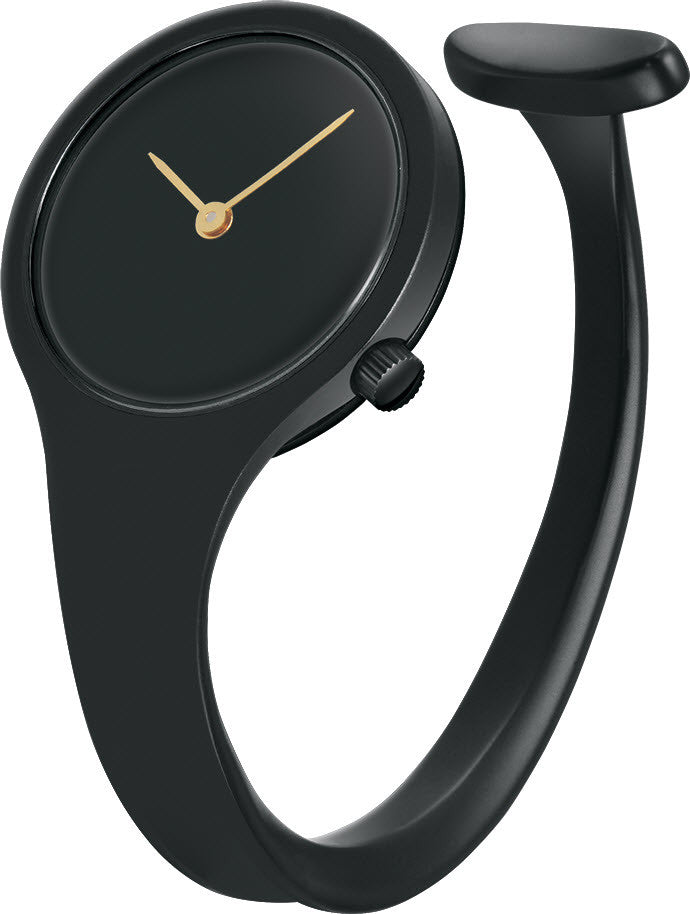 Georg Jensen Watch Vivianna Black PVD 27mm Small