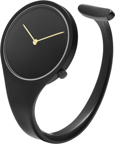 Georg Jensen Watch Vivianna Black PVD 34mm Small