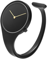 Georg Jensen Watch Vivianna Bangle Black PVD Dial