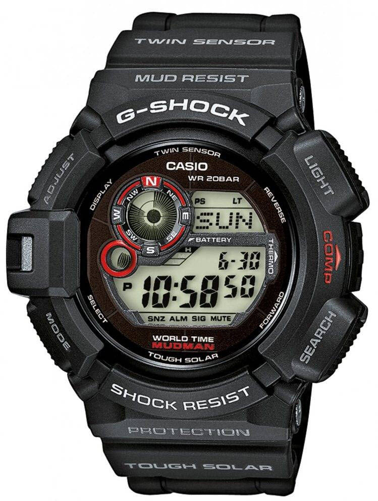 G-Shock Watch Mudman Alarm Chronograph