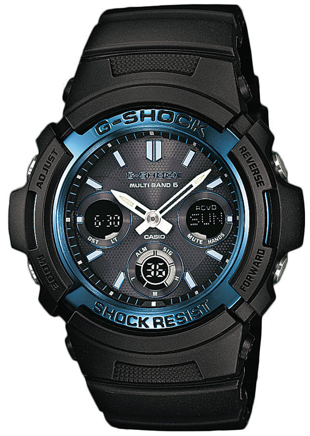 G-Shock Watch Waveceptor Alarm Chronograph D