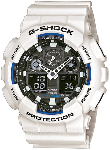 G-Shock Watch White Oversize