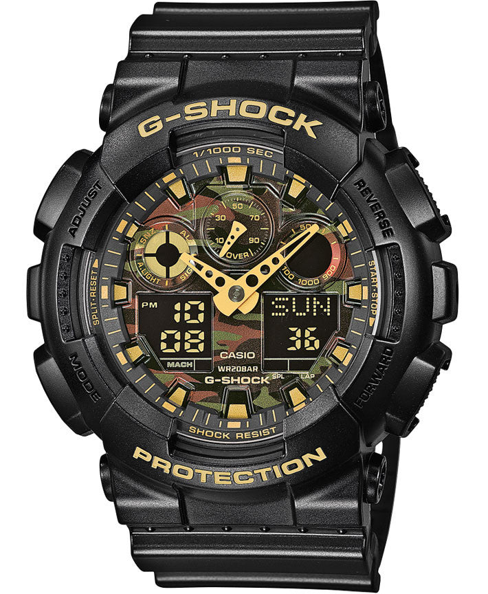 G-Shock Watch Alarm Chronograph Camouflage