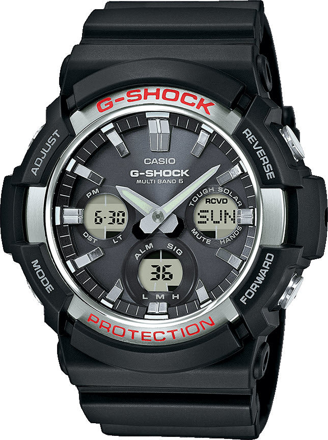 10f77e78271 G-Shock Watch Alarm Mens D GAW-100-1AER Watch