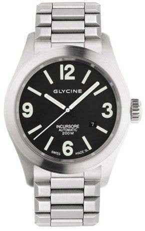 Glycine Watch Incursore 46mm 200M Automatic Sap D