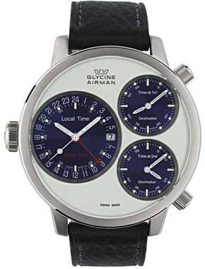 Glycine Airman 7 Crosswise Circle SL D
