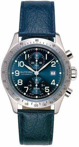 Glycine Stratoforte Chronograph Blue D