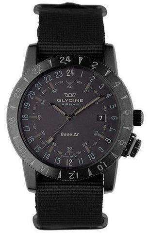 Glycine Watch Airman Base 22 Mystery Purist