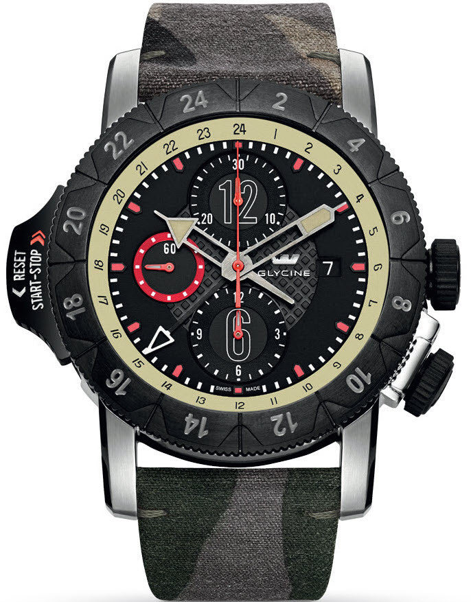 Glycine Watch Airman Airfighter Camouflage