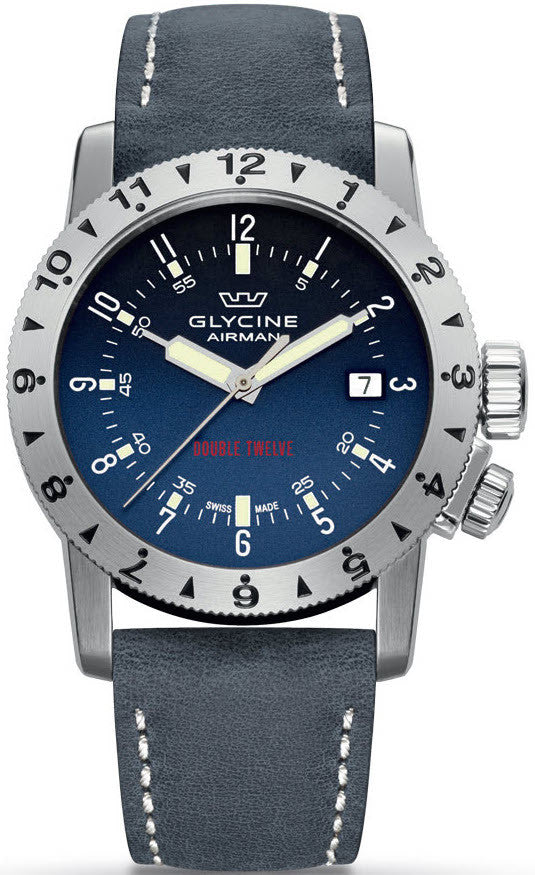 Glycine Watch Airman Double Twelve