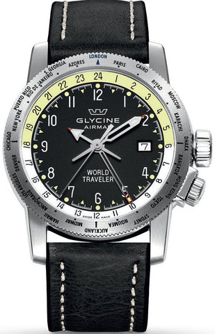 Glycine Watch Airman World Traveler