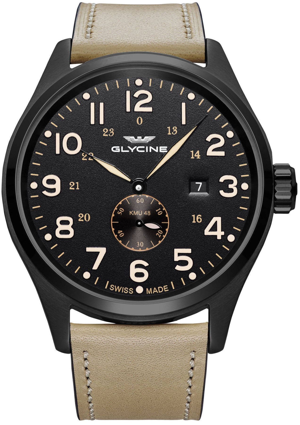 glycine watch kmu