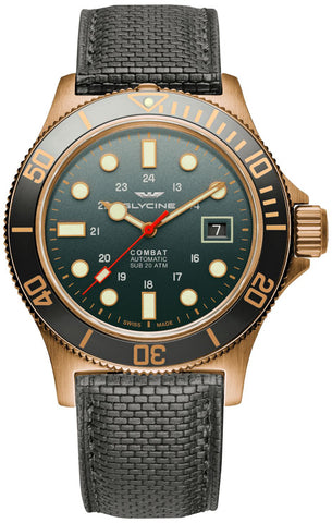 Glycine Watch Combat Sub Bronze