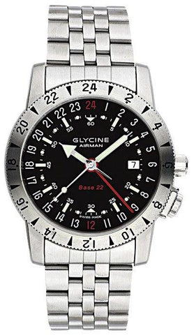 Glycine Airman Base 22 Bracelet With 24 Hr Purist Movement D