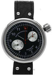 Giuliano Mazzuoli Manometro Chronograph Black Dial