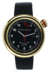 Giuliano Mazzuoli Manometro Carbon Fibre & Polished Gold