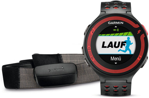 Garmin Watch Forerunner 220 Black Red + HRM
