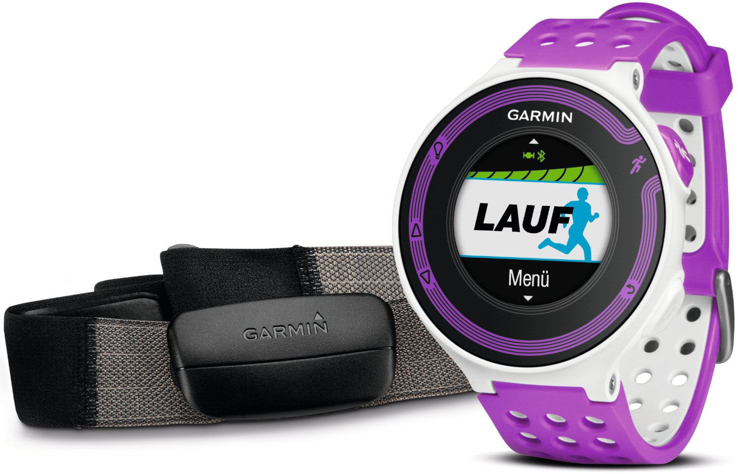 Garmin Watch Forerunner 220 White Lilac + HRM