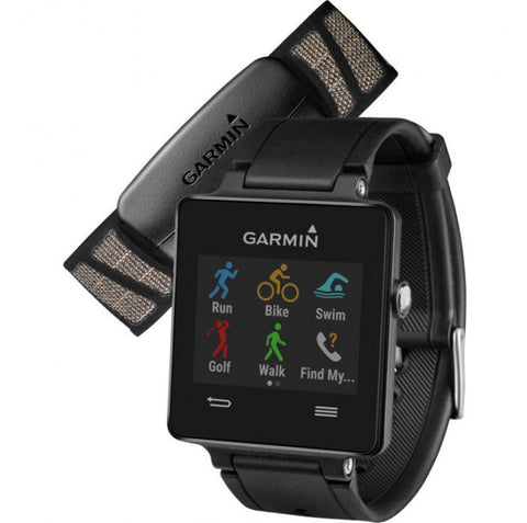 Garmin Watch Viviactive Black Bundle