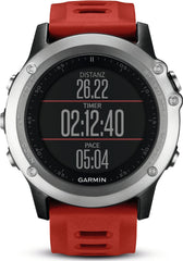 Garmin Watch Fenix 3 Silver