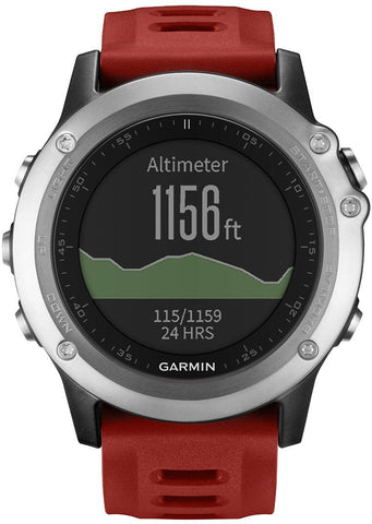 Garmin Watch Fenix 3 Silver Performance Bundle