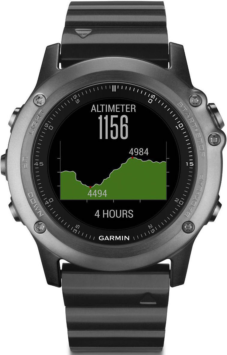 Garmin watch fenix 3 sapphire performance bundle 010 01338 26 watch for Watches garmin