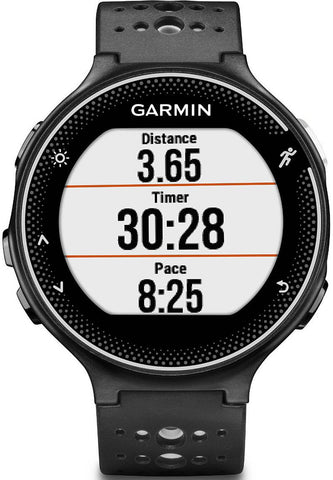 Garmin Watch Forerunner 230 Black White