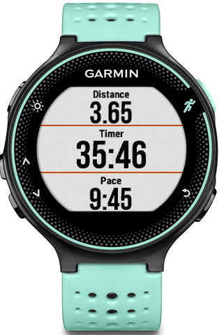 Garmin Watch Forerunner 235 Wrist Based HRM Black Frost Blue