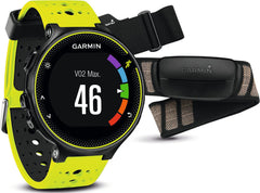 Garmin Watch Forerunner 230 Premium Soft Strap HRM Yellow Black