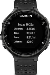 Garmin Watch Forerunner 235 Wrist Based HRM Black Grey