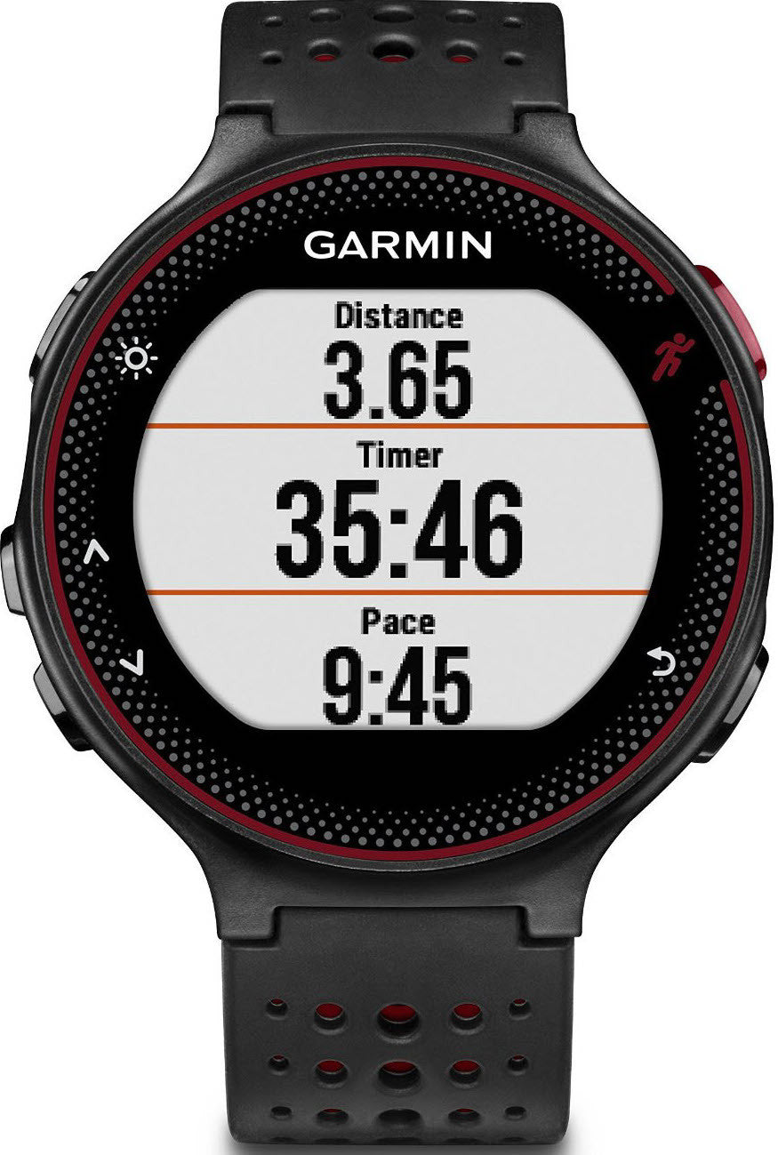 Garmin Watch Forerunner 235 Wrist Based HRM Black Red