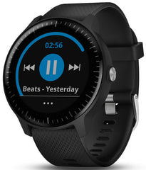 Garmin Watch Vivoactive 3 Music Black Steel