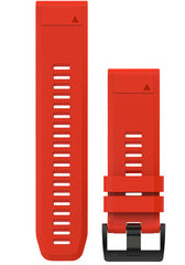 Garmin Watch Bands QuickFit 26 Amp Flame Red Silicone