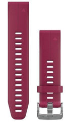 Garmin Watch Bands QuickFit 20 Cerise Silicone