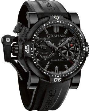 Graham Chronofighter Oversize Diver Deep Black D