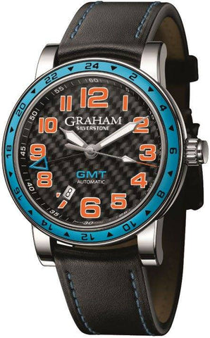 Graham Silverstone Time Zone Gulf Blue D