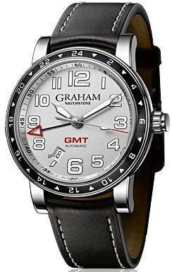 Graham Silverstone Time Zone Silver D