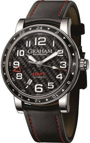 Graham Silverstone Time Zone Black D