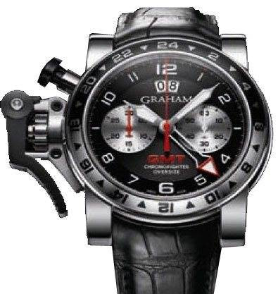 Graham Watch Chronofighter Oversize GMT Black