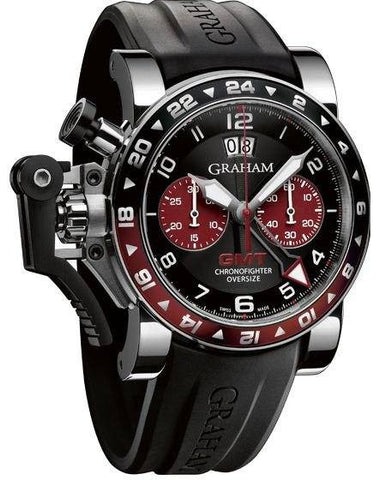 Graham Chronofighter Oversize GMT D