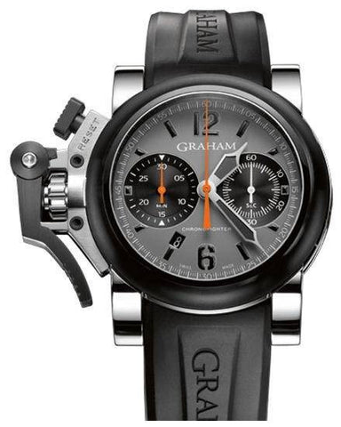 Graham Chronofighter Oversize Silver D