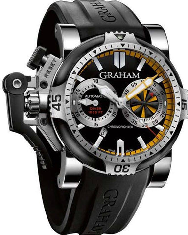 Graham Chronofighter Oversize Turbo Tech D