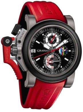 Graham Chronofighter Oversize Referee Black D