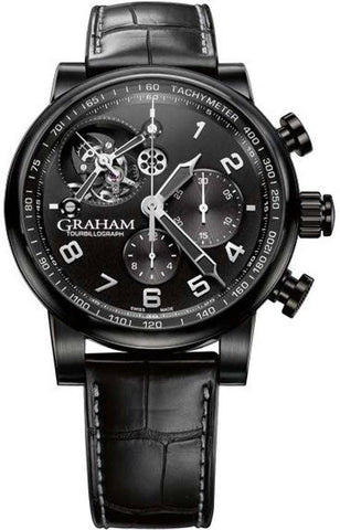 Graham Silverstone Tourbillograph All Black D