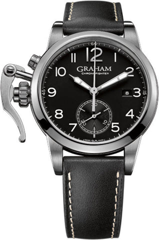 Graham Watch Chronofighter 1695 Europe Arabic Black