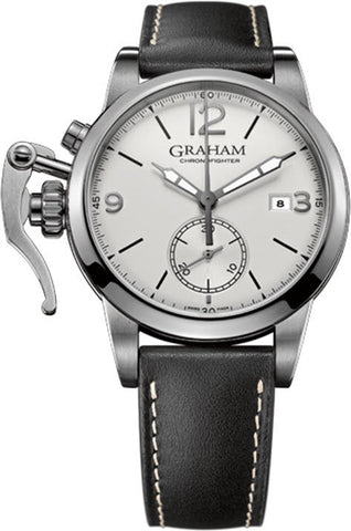 Graham Watch Chronofighter 1695 White