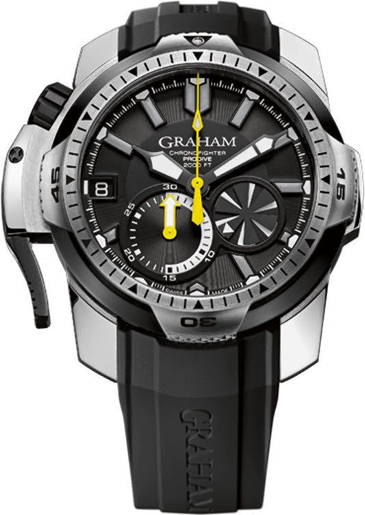 Graham Watch Chronofighter Prodive Black