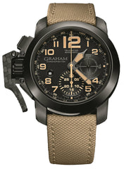 Graham Watch Chronofighter Oversize Black Sahara