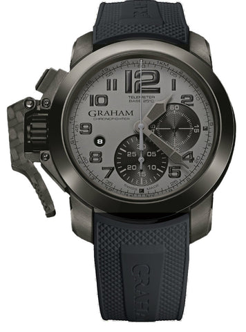 Graham Watch Chronofighter Oversize Ceramic Celcius Bezel Grey